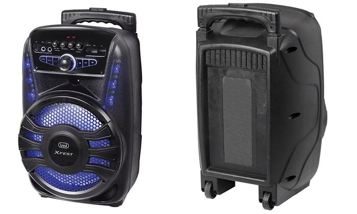 trevi xfest 450  Party-Speaker Bluetooth da 30W   Groupon Goods