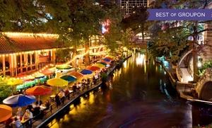 Wyndham Hotel Overlooking San Antonio River Walk at Wyndham San Antonio Riverwalk, plus 9.0% Cash Back from Ebates.