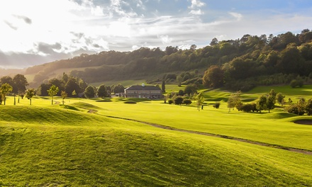 Day of Golf for Two or Four with Range Balls at Woldingham Golf Club (Up to 72% Off)
