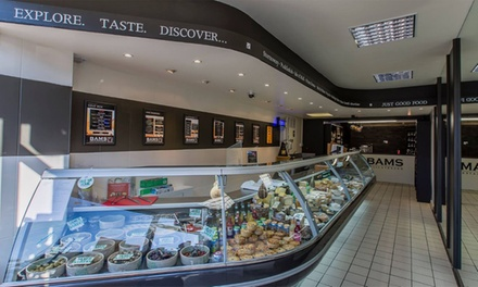 Up to £30 Toward Delicatessen Items at Bams Deli (50% Off)