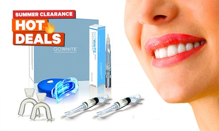 From $19.95 for a GoWhite Teeth Whitening Kits or Pens (Don't Pay up to $977.60)