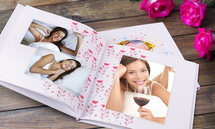 Personalised hardcover photobook personalised