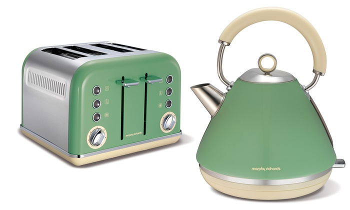 cheap cream kettle and toaster