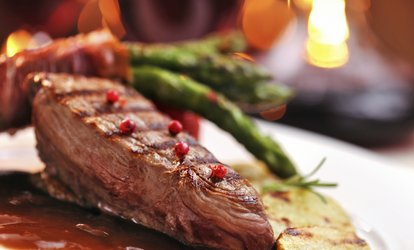 Steak Meal with Sides, Sauces and an Optional Bottle of Wine for Two or Four at Inishfusion Winebar Bistro