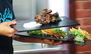 Locally Sourced Seasonal Food at Backdrop Food & Drink (Up to 40% Off). Two Options Available.