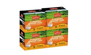 QuikTea Turmeric-Ginger Chai Latte (40-Count)