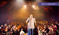 Saturday Comedy Plus Burger: Entry for Two or Four,  3 June - 26 August (Up to 58% Off)