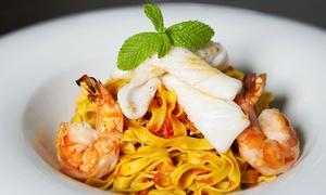 Da Claudio: Italiaans driegangenmenu à la carte voor 1, 2, 4 of 6 personen bij restaurant Da Claudio (vanaf € 14,99)