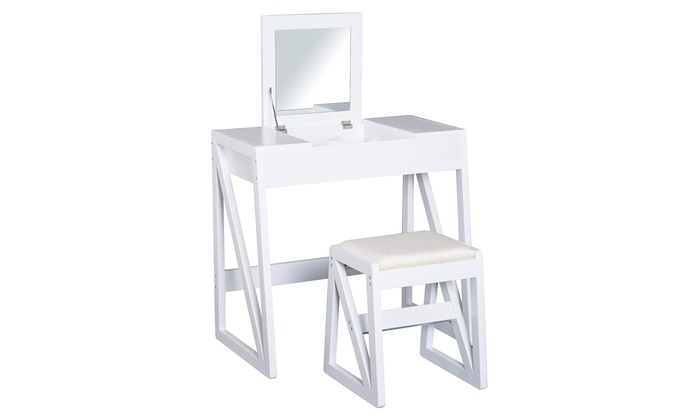 HOMCOM Pine Dressing Table from £69 (43% OFF)