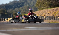 21-Lap Karting Session for One Person ($30) at Picton Karting Track (Up to $40 Value)