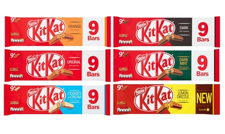 54Pack of KitKat Bars in Choice of Flavour