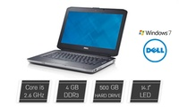 """מחשב נייד DELL עם מסך """"14.1,מעבד Core i5, דיסק קשיח 320GB/500GB/1TB, זיכרון 2/4/8GB ומערכת הפעלה Win 7. אחריות לשנה"""
