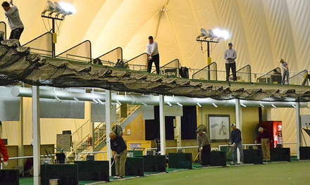 Golf Range Access at The Golf Dome (Up to 53% Off)