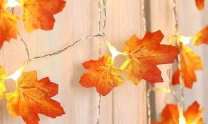 Guirlandes feuilles d'érable