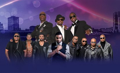 image for Pre-Sale: Fresno 90's Block Party with Guy, Teddy Riley, 112, Ginuwine and Next on February 22 at 7:30 p.m.