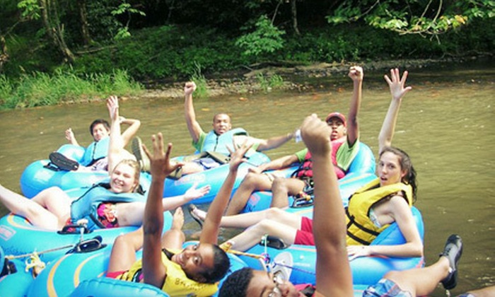 RiverGirl Fishing Company - Elk: Three- to Four-Hour River-Tubing Excursion for Up to 4 or 15 from RiverGirl Fishing Company (Up to 54% Off)