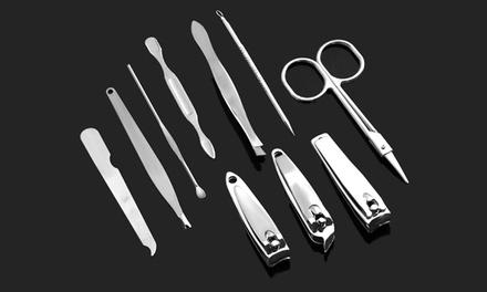 Hasta 3 sets de 10 piezas de manicura y pedicura Skinapeel