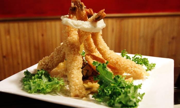Hibachi Japanese Steak House - Portsmouth: $17 for $30 Worth of Japanese Steak-House Dinner Cuisine at Hibachi Japanese Steak House