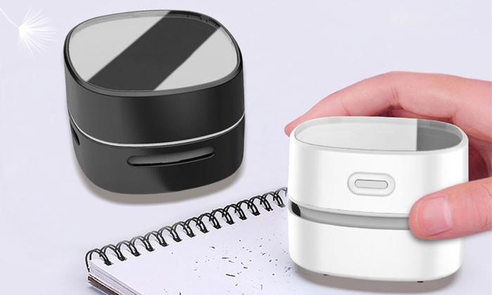 One or Two Desktop Mini Vacuum Cleaners