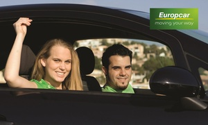 Europcar: Nationwide: Three-Day Small Car Hire for Up to Two Drivers with Unlimited Kilometres and Airport Pick-Up with Europcar
