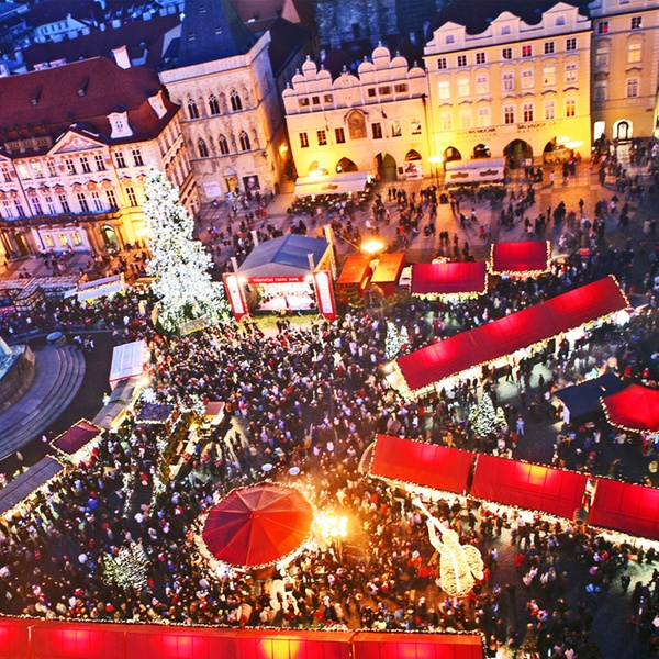 Prague Christmas Market.Prague Christmas Markets 2 4 Nights At A Choice Of Hotels With Breakfast Flights And Option For Beer Spa