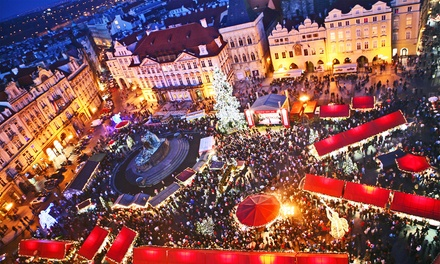 ✈ Mystery Christmas Markets: 2 or 3 Nights with Return Flights at Choice of Cities and Hotels*