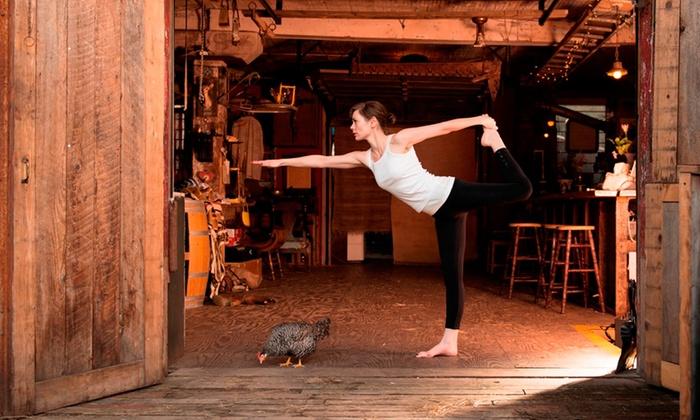 Hot Yoga of East Nashville - Nashville-Davidson metropolitan government (balance): 20 Hot Yoga Classes or One Month of Unlimited Hot Yoga Classes at Hot Yoga of East Nashville (Up to 73% Off)