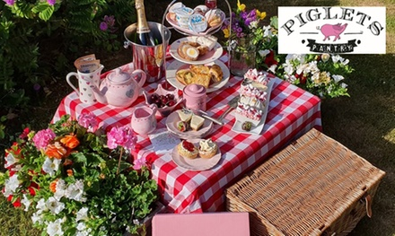 Classic or Vegetarian Afternoon Tea Box Delivery from Piglets Pantry ( 36% Off)
