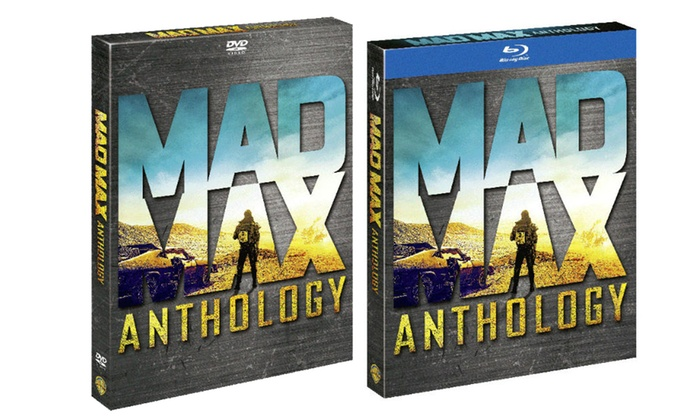 Groupon Goods Global GmbH: Warner Bros Mad Max Anthology disponibile in DVD o Blu-Ray