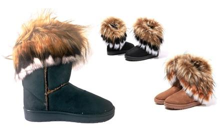 Damenwarmfutter-Stiefel in der Farbe nach Wahl