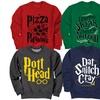 Men's Wizard Pullover Fleece Sweatshirts