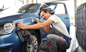 KRP Auto Body: Headlight Restoration Service from R195 for One Car with Optional Auto Glaze & Polish at KRP Auto Body (Up to 65% Off)