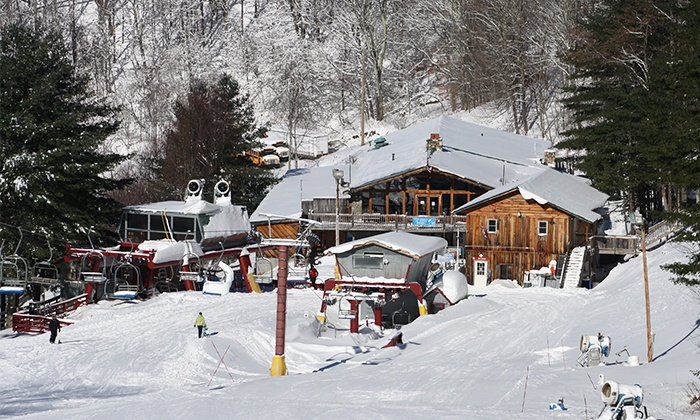 Wolf Ridge Ski Resort - Wolf Ridge Ski Resort: One or Four Lift Tickets at Wolf Ridge Ski Resort (Up to 53% Off)