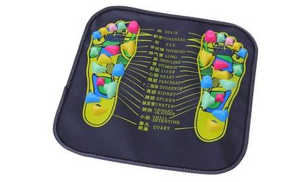 1 of 2 massagematten voor voetreflexologie