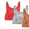 AFONiE Stud Accent Shoulder Bag