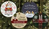 Up to 73% Off Personalized Round Ceramic Ornaments