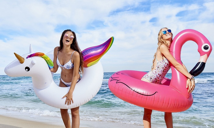 One or Two 36″ Inflatable Swim Rings from £6.98