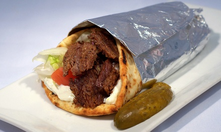 $18 for Three Groupons, Each Good for One Build-Your-Own Greek-Inspired Meal at Yamas (41% Off)