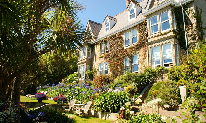 Hotel Penzance - Penzance: Cornwall: 1 to 3 Nights for Two with Breakfast, Prosecco, Cream Tea and Option for Dinner at 4* Hotel Penzance