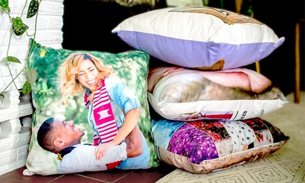 Customized Microsuede Pillow Covers from Collage.com (Up to 87% Off). Six Options Available.