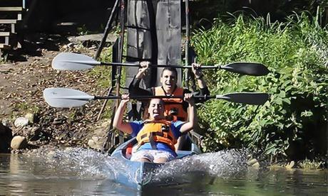 Descenso por el río Sella con rampa de lanzamiento inicial para 1, 2 o 4 personas desde 15,90 € con Lánzate al Sella