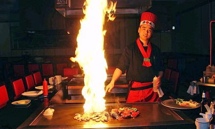 $10 for Japanese Dinner at Hibachi Steakhouse & Sushi Bar-South Hills Village mall ($20 Value)