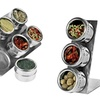 Stainless Steel Magnetic Spice Rack Set (4- or 7-Piece)