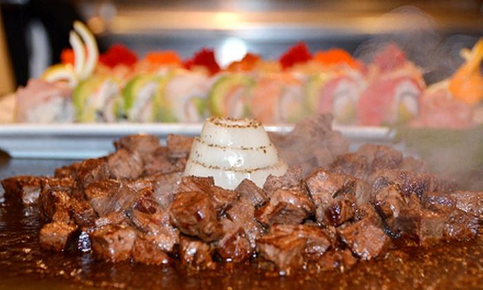 Samurai Japanese Steakhouse & Sushi Bar - Fairfax: $22 for $40 Worth of Japanese Hibachi Cuisine at Samurai Japanese Steakhouse & Sushi Bar