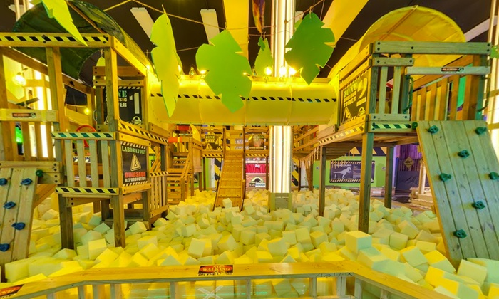 Kids Adventure - Kids Adventure: Indoor Play Place at Kids Adventure (Up to 67% Off). Six Options Available.