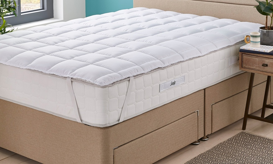 Sealy Select Response Non-Allergenic Mattress Topper for £23.99