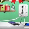 Aduro Surge Multi-Charging Station with 4 USB Ports