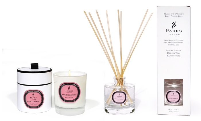 aromatherapie diffuser und kerze groupon. Black Bedroom Furniture Sets. Home Design Ideas