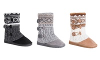 Muk Luks Women's Cheryl Boots | Groupon Exclusive
