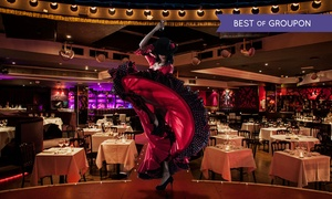 Proud Cabaret City: Cabaretand Burlesque Show Entry with a Three-Course Dinner and Glass of Prosecco at Proud Cabaret City (Up to 60% Off)